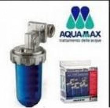 poza Filtru cu polifosfati AQUAMAX Dosamax Blu + 6 rezerve