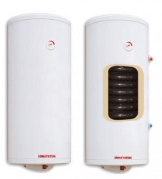 poza Boiler termoelectric cu o serpentina SUNSYSTEM MB S1 80 - 80 litri