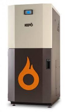 poza Centrala termica pe peleti KEPO 35 Kw, curatare manuala a arzatorului