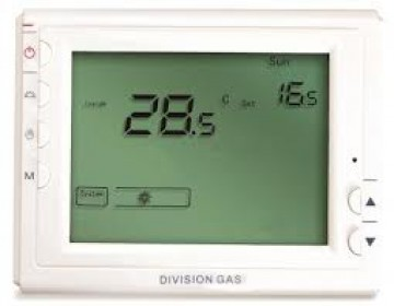 poza Termostat de ambient cu fir HOMEPLEX (Division Gas) 908 programabil