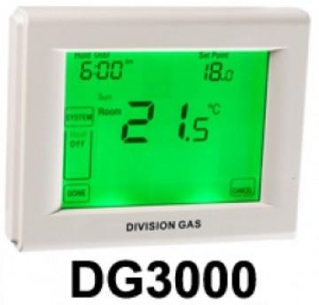 poza Termostat de ambient cu fir si touchscreen HOMEPLEX (Division Gas) DG3000