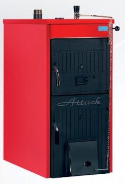 Poza Centrala termica pe lemne si carbune din fonta ATTACK FD20 - 18/21 kW