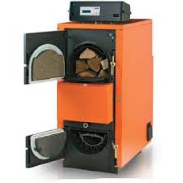 poza Centrala termica pe lemne cu gazeificare ARCA ASPIRO 90 R - 84 kw