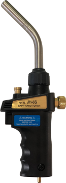 Poza Arzator profesional cu aprindere piezo si maner DELKA pentru valve CGA600. Poza 4359