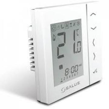 Poza  Termostat de ambient programabil fara fir cu montaj in doza SALUS VS10WRF