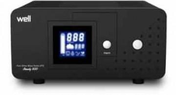 poza Sursa neintreruptibila UPS WELL COMMANDER 1000VA - 600 W